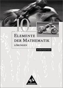 Elemente der Mathematik SI - Ausgabe 2001 für Niedersachsen