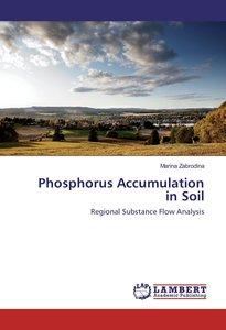 Phosphorus Accumulation in Soil