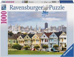 Painted Ladies, San Fancisco. Puzzle 1000 Teile