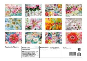 Passionate Flowers (Poster Book DIN A3 Landscape)