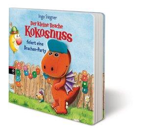 Drache Kokosnuss Pappbilderbuch - Fingerpuppe