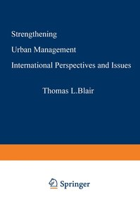 Strengthening Urban Management