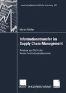 Informationstransfer im Supply Chain Management
