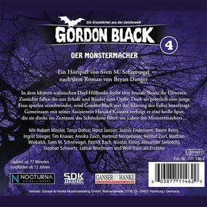 Gordon Black 04 - Der Monstermacher