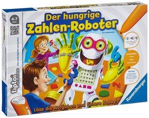 Ravensburger 00706 - tiptoi: Der hungrige Zahlen-Roboter