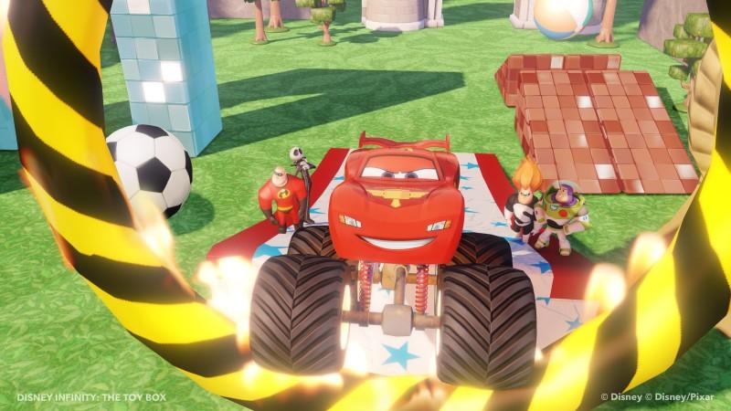 Disney INFINITY - Starter Set PS3 (inkl. 3 Figuren, Portal und 1 - zum Schließen ins Bild klicken