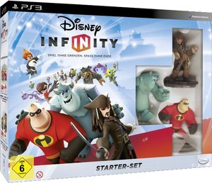 Disney INFINITY - Starter Set PS3 (inkl. 3 Figuren, Portal und 1