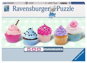Zuckersüße Cupcakes. Puzzle 500 Teile