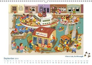 Funny Stories for Children (Wall Calendar 2015 DIN A3 Landscape)