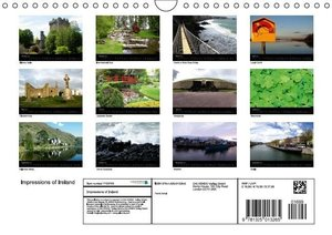 Impressions of Ireland (Wall Calendar 2015 DIN A4 Landscape)