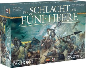 Heidelberger HE596 - Hobbit - Schlacht der fünf Heere, Strategie