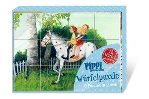 Pippi Langstrumpf Würfelpuzzle