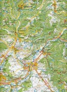 Rodachtal - Steinwiesen. Wallenfels 1 : 35 000. Fritsch Wanderka