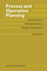Process and Operation Planning