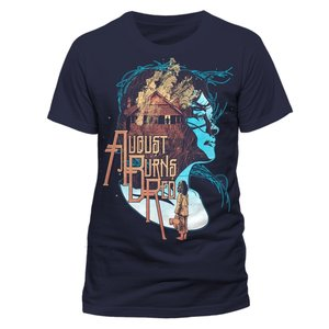 Housefire (T-Shirt,Dunkelblau,Größe L)