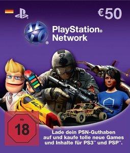 PSN Live Card 50 EUR (nur Deutschland)
