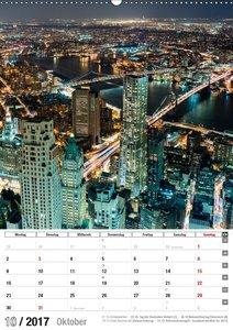 New York City Jahresplaner 2017 (Wandkalender 2017 DIN A2 hoch)