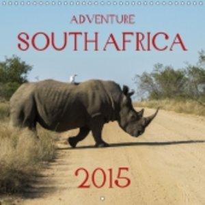 Adventure South Africa 2015 (Wall Calendar 2015 300 × 300 mm Squ