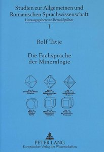 Die Fachsprache der Mineralogie