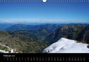 Kaina, M: Berg und Tal (Wandkalender 2015 DIN A3 quer)