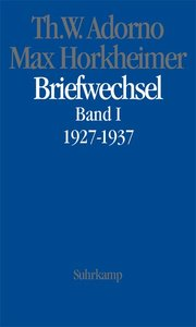 Briefwechsel 1. 1927 - 1937