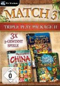 Match 3 Triple Play Package II. Für Windows XP/Vista/7/8
