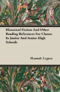 Historical Fiction And Other Reading References For Classes In J