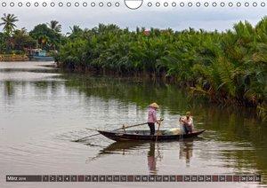 VIETNAM - Land der Flüsse (Wandkalender 2016 DIN A4 quer)