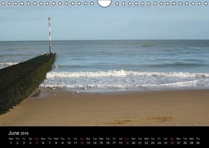 Kent, England / UK-Version (Wall Calendar 2016 DIN A4 Landscape)