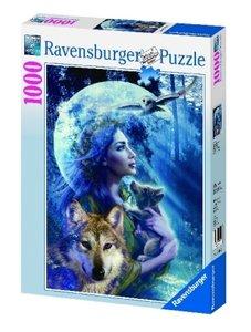 Wolfsfrau. Puzzle 1000 Teile
