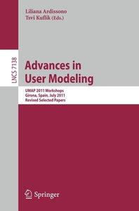 Advances in User Modeling