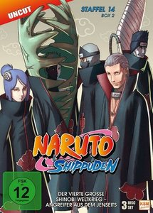 Naruto Shippuden - Staffel 14 - Box 2: Folgen 529-540