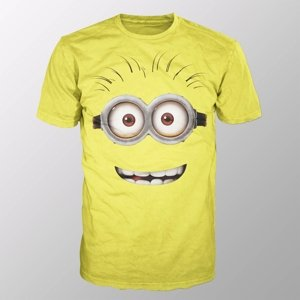 Minion Goggle Face (Shirt XL/Yellow)