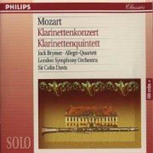 Klarinettenkonzert / Klarinettenquintett. Klassik-CD