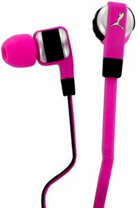 Puma El Diego Dos Headset In-Ear + Mic, pink