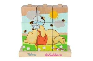 Eichhorn 100003335 - Winnie Pooh: Bilderwürfel-Puzzle