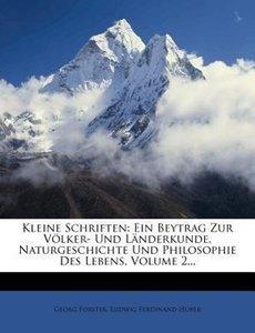 Kleine Schriften: zweyter Theil