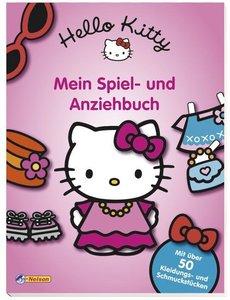 Hello Kitty Mein Spiel- und Anziehbuch