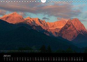 Die Bayerischen Alpen (Wandkalender 2015 DIN A4 quer)