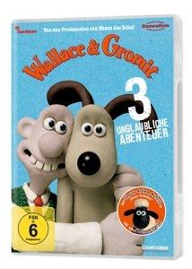 Wallace & Gromit - 3 unglaubliche Abenteuer