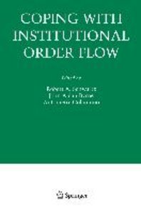 Coping with Institutional Order Flow
