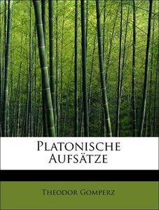 Platonische Aufsätze