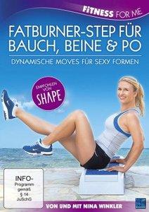 Nina Winkler - Fatburner-Step für Bauch, Beine & Po - Dynamische