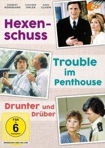 Hexenschuss & Trouble im Penthouse & Drunter und Drüber