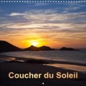 Coucher du Soleil (Calendrier mural 2015 300 × 300 mm Square)