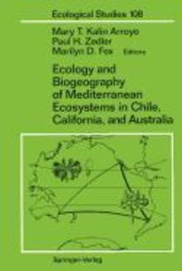 Ecology and Biogeography of Mediterranean Ecosystems in Chile, C