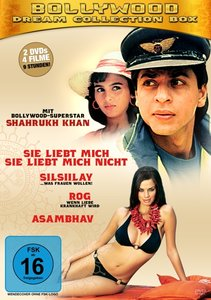 Bollywood-Dream Collection Box (4 Filme)