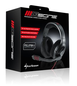 Sharkoon GSone - Stereo Gaming Headset PC/PS4
