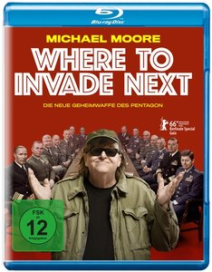 Where to Invade Next (Blu-ray)