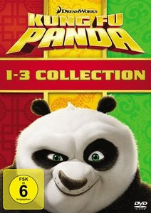 Kung Fu Panda 1-3 Collection